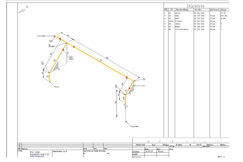 3D-Planung für den Rohrleitungsbau ausgebaut